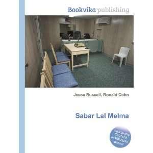 Sabar Lal Melma: Ronald Cohn Jesse Russell: Books
