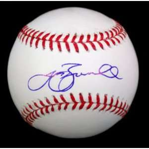 Jeff Bagwell Signed Ball   Oml Psa dna