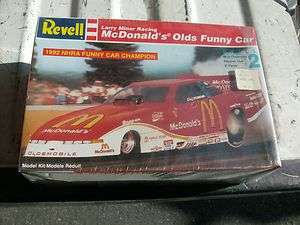 LARRY MINOR MC DONALD FUNNY CAR RACE CAR NHRA MODEL KIT 27