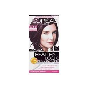 LOreal Healthy Look Creme Gloss Hair Color Dark Red Brown