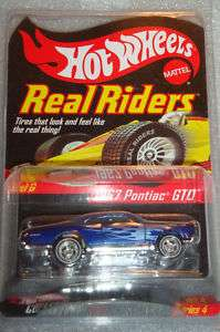 Hot Wheels RLC Real Riders 67 GTO blue