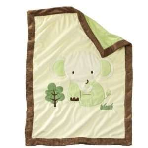 Blanket GREEN TWIDDLIWINK SECURITY SOFT PLUSH BABY BLANKET Baby