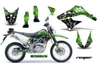 AMR RACING DIRT BIKE MOTORCYCLE DECALS KAWASAKI D TRACKER KLX 125 10