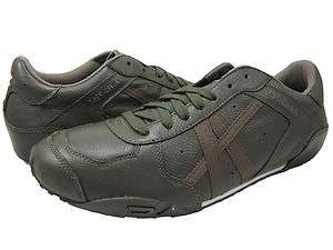 Diesel Mens New Remy Olive Green Casual Lace up Fashion Sneakers Shoes