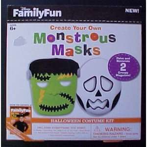 Disney Family Fun Create Your Own Monstrous Masks