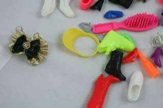 Lot of Classic Mattel Barbie Doll Accessories Shoes