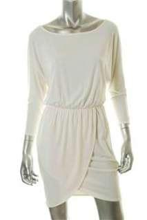 FAMOUS CATALOG Moda White Casual Dress BHFO Sale XS |