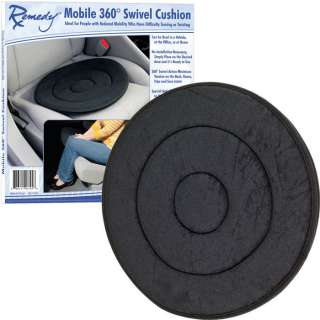 Remedy™ Mobile 360° Swivel Cushion   Ideal for People with Reduced