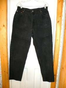Sz 16 Mis M 550 Levis Relaxed Fit Tapered Leg Jeans