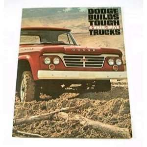 1963 63 DODGE 4x4 Pickup TRUCK BROCHURE W200 W300 WM300