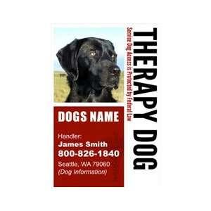 Custom ID Badge   1 Dogs Custom ID Badge   Design#4   Vertical Pet