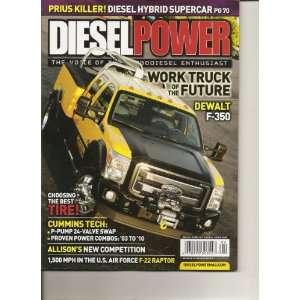 Diesel Power Magazine (Work truck of the future Dewalt F