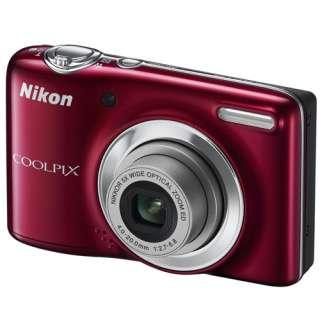 Nikon COOLPIX L25 (Red) Compact Digital Camera/Free 4GB+Case/NEW