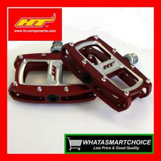 New AX06 RED Mountain & BMX Bicycle Bike Pedals
