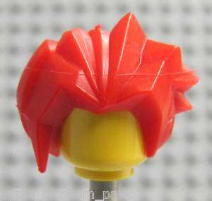 NEW Lego Exoforce Bright RED HAIR Ha Ya To Wig