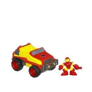 Marvel Super Hero Squad Repulsor Rammer Squad Cruisers
