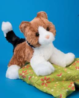 Douglas Toy Plush 8 MAPS Stuffed Calico Cat ~NEW~