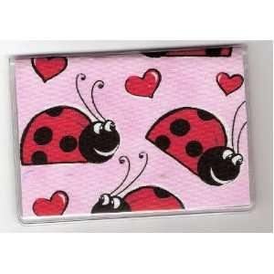 Debit Check Card Gift Card Drivers License Holder Ladybug