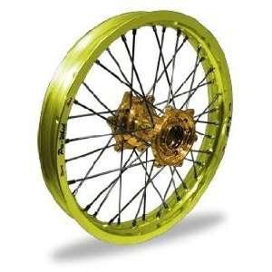 Pro Wheel Pro Wheel 1.85x19 MX Rear Wheel   Yellow Rim/Gold Hub