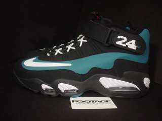 Griffey Max 1 BLACK WHITE FRESH WATER GREEN RED EMERALD DS NEW Sz 13