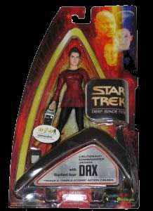 Star Trek Art Asylum AFX EXCLUSIVE DS9 DAX SEALED