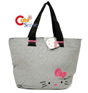 Sanrio Hello Kitty Quilted Tote Bag w/Pink Bow Original