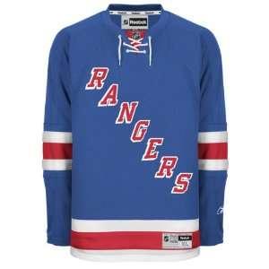 New York Rangers Blue Premier NHL Jersey Sports
