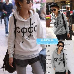 Fashion Women Casual Pullover hoodies Sweatshirt Jacket Coat JF500