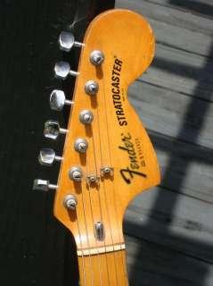 1979 Fender Stratocaster guitar