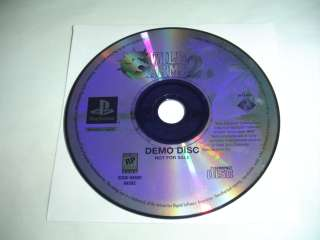 Disc ONLY for Wild ARMs 2 II PS1 Playstation game 711719448426