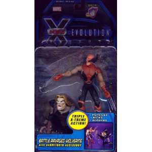 Ravaged Wolverine from X Men Evolution Action Figure Toys & Games