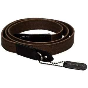 Black Label Bag Cloth Racing Strap    Brown Camera