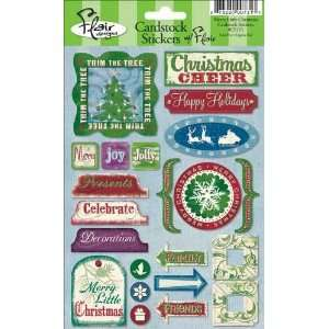 Flair Designs Cardstock Stickers   Merry Little Christmas