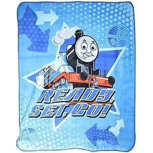 com Thomas The Tank Engine Ready Set Go Fleece Throw Home & Kitchen