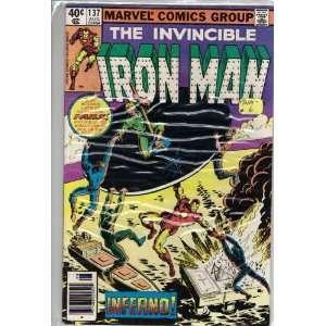 Iron Man #137 Comic Book