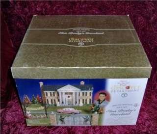 Dept 56 Elvis Presleys Graceland Special Ed Gift Set NIB