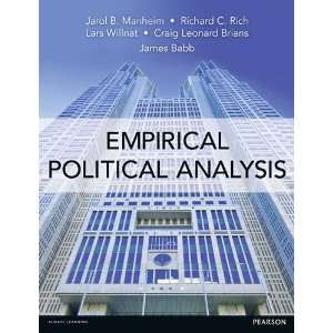 com Empirical Political Analysis An Introduction to Research Methods