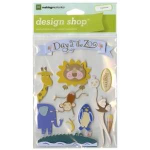 Animal Design Shop Sticker Sheet Zoo