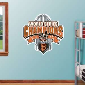 MLB San Francisco Giants 2010 WS Locker Room Champions