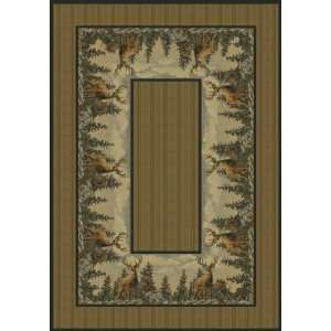 United Weavers Hautman Standing Proud Ivory Animal Prints Rug 311 x