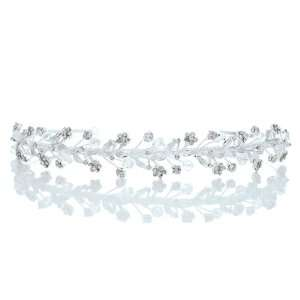 Wedding Flower Vine Rhinestone Crystal Beads Prom Headband Tiara