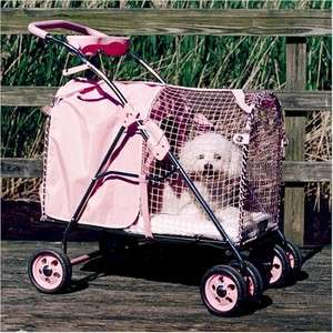 KittyWalk Kitty Walk 5th Ave ENCLOSED Pet Dog Cat SUV Stroller Carrier