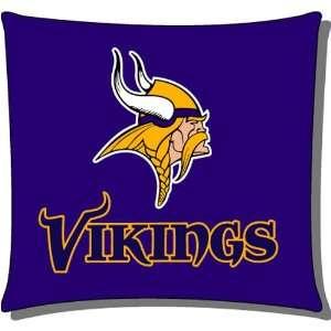 Minnesota Vikings NFL Team Floor Toss Pillow by Northwest