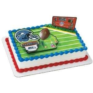 Seattle Seahawks Football Cake Layon