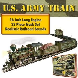 Military ARMY TRAIN   G Scale: Toys & Games