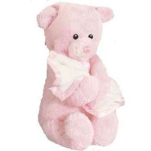 Baby Gund Wind up Musical Pink Teddy Bear Rock a bye Baby