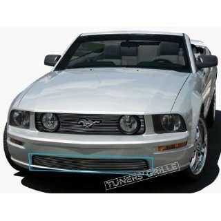 05 06 07 08 09 Ford Mustang GT V8 1pc Bumper Billet Grille