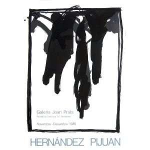 Galeria Joan Prats 1985 by Joan Hernandez Pijuan, 22x30