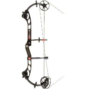 PSE Bow Madness Compound Bow Black / Right Hand: Sports