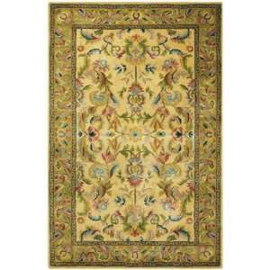 Hastings Design Rug 79square Gold/green Kitchen